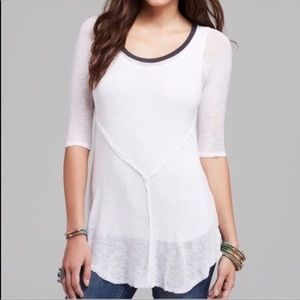 NWT FREE PEOPLE   White Weekends Layering Tunic